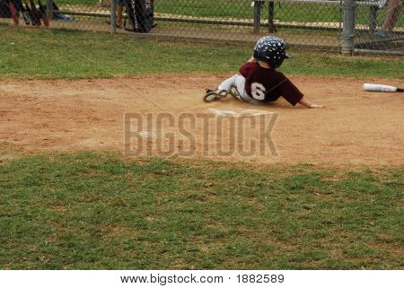 Sliding Into Homeplate