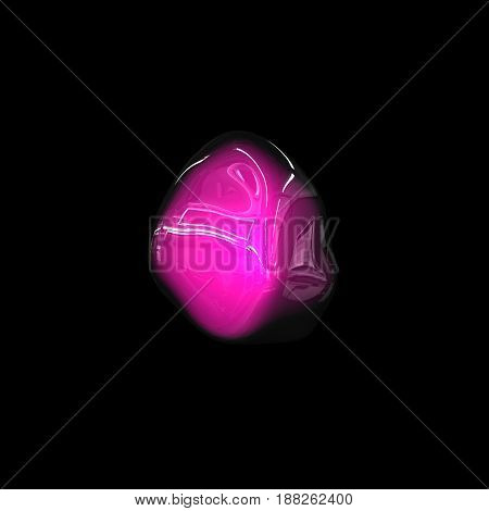 Wavy Colorful Surface, Abstract Background