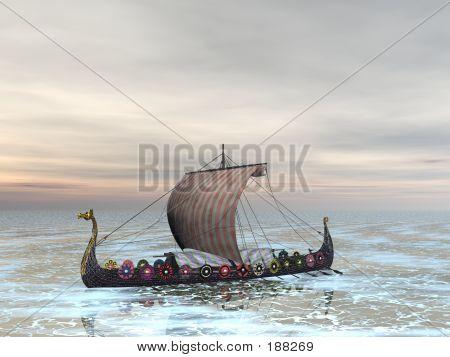 Viking Dragon Boat