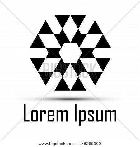 Abstract vector icon such logos. Fully editable vector image.