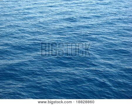 Wavy sea surface