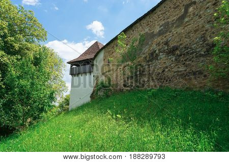 Viscri is a UNESCO heritage site in Romania