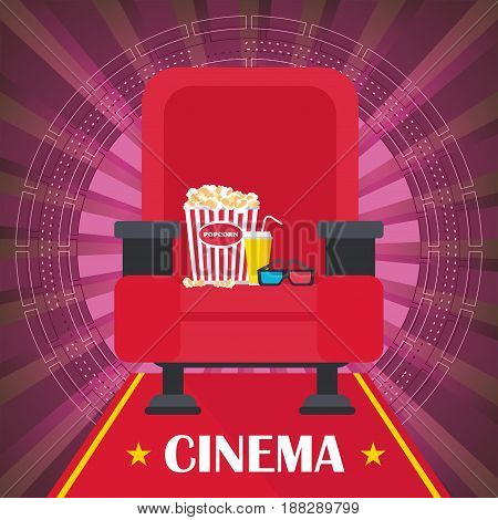Cinema Poster With Chair
