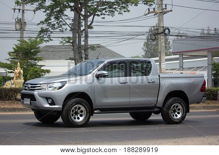 Private Pickup Truck Car Toyota Hilux Revo.