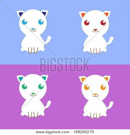 very cute cat that i made it.