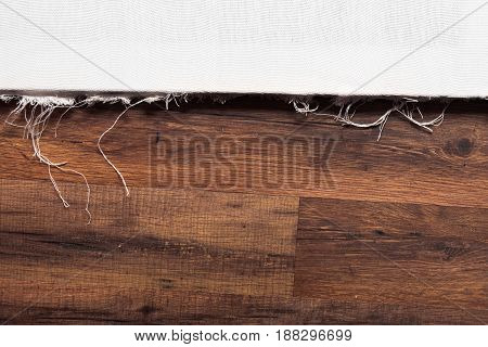 Blank drawing canvas mockup. Painter workplace. Drawing lessons, art school background, young artist, DIY concept