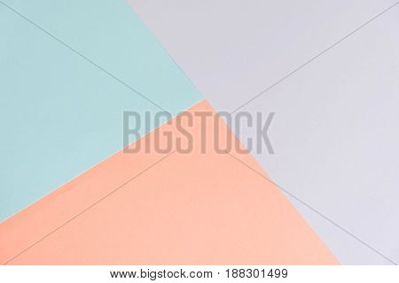 Pastel Color Paper Texture Background. Abstract Geometric Paper Background. Trend Colors. Colorful O
