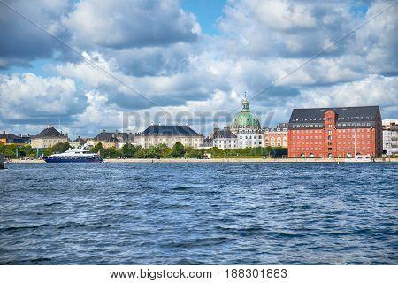 The Larsens Plads In Copenhagen.