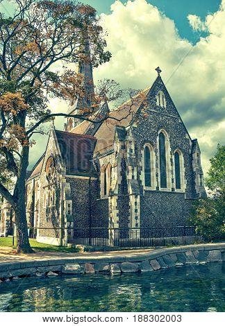St Alban's Church In Copenhagen.