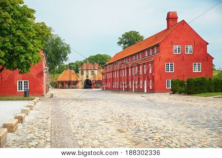The Prince's Bastion, The Princess' Bastion And The Norway's Gate In Kastellet