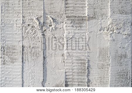 Concrete Wall Texture with Traces in the form of wood from non-removable formwork
