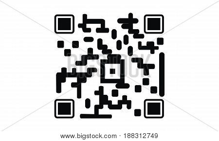 This image describe about  QR code  smart phone