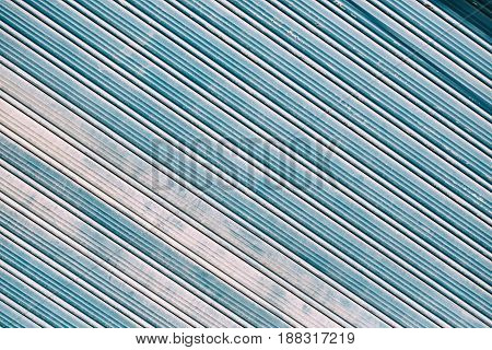 Abstract Texture Of A Dirty Aluminium Shutter
