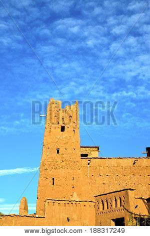 Africa   Histoycal Maroc  Old Construction   Sky