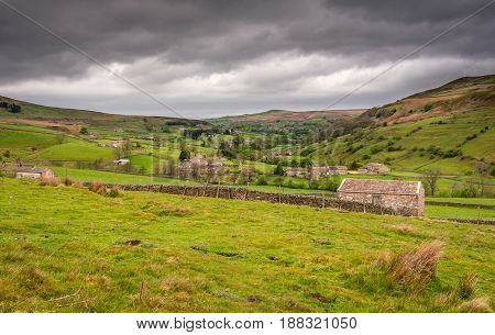 Langthwaite in Arkengarthdale - Arkengarthdale is the northernmost of all the Yorkshire dales and is a subsidiary dale to Swaledale