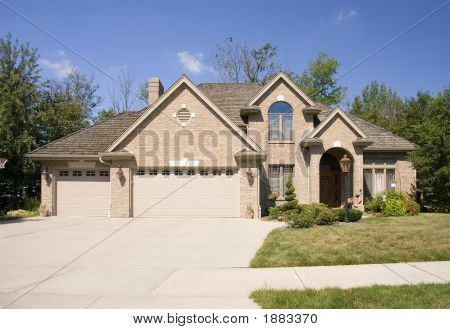 Executive Home With Three Car Garage