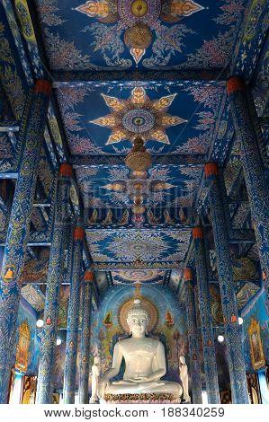 Buddha , Buddha statue , temple , Buddhism , Monk Worship Buddha statue , The Buddha statue, Blue temple, pay, religion