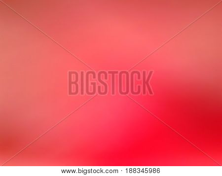 Gradient red background. Blured colored gradiented raster image.