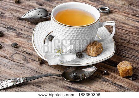 Chinese Green Tea With Jasmine