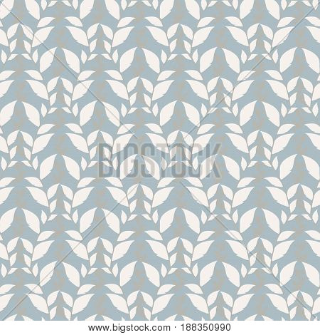 Modern stylish floral flower pattern for textile wallpaper pattern fills covers surface print gift wrap scrapbooking decoupage Seamless blue gray and white abstract classic pattern