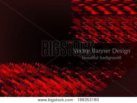 red elegant frame design, made in vector