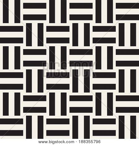 Shapes Seamless Pattern Background. Stylish Symmetric Lattice.  Abstract Geometric Tiling Mosaic