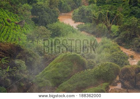 Fog Over The River, Vietnam, Dalat