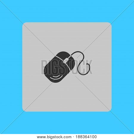 Computer mouse icon symbol. So, click the mouse.