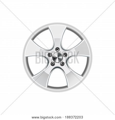 Car rim vector illustration isolated on white background