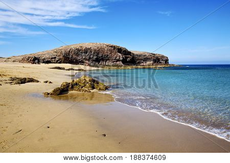 Water In Lanzarote   Froth  Spain  Rock Stone   Cloud     Musk  And Summer
