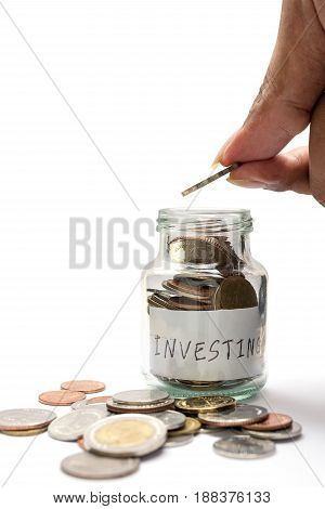 Saving Money And Account Finance Concept