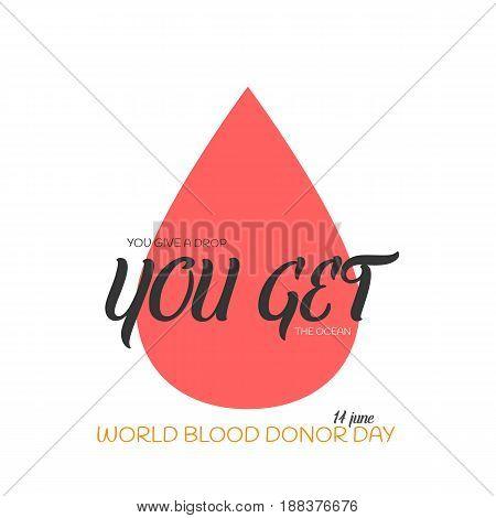 Blood Drop Illustration