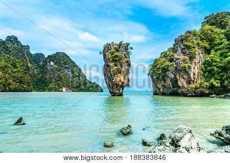 James Bond Island-koh Tapoo From Phang Nga Bay,thailand