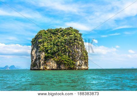 Phang Nga Bay-landscape, Andaman Sea, South Thailand