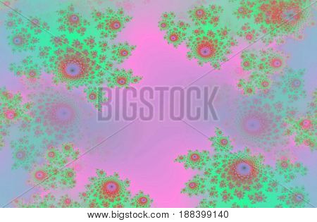 Pastel horizontal beautiful floral flowers design romantic image background