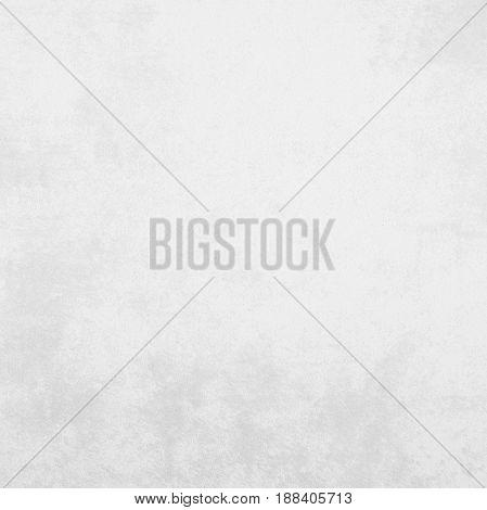Blank white grunge cement wall texture background banner interior design background