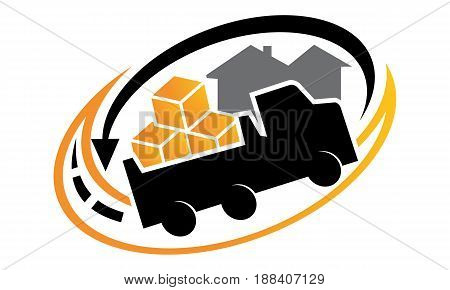 This image describe about Relocation Service Logo