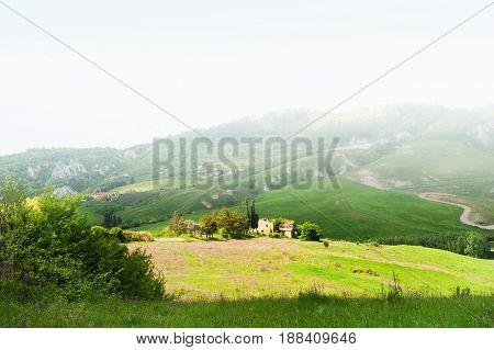 Beautiful Tuscany Landscape, Italy