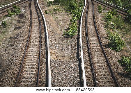 Two Ways - Rails, Railway, Two Railroads