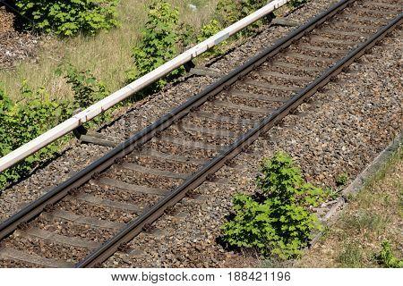 single rail,  railroad, railway - public transportation