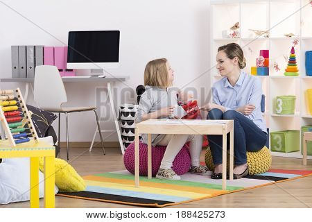 Child During Play Therapy