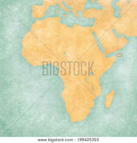 Map Of Africa - Socotra