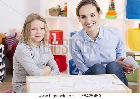 Special Educator And Child Patient