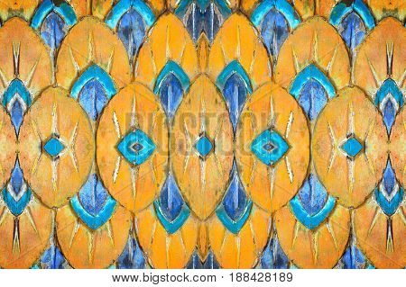 color pattern sculptured wood abstract native art texture background