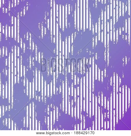 Lilac white striped and stained background. Vector illustraton