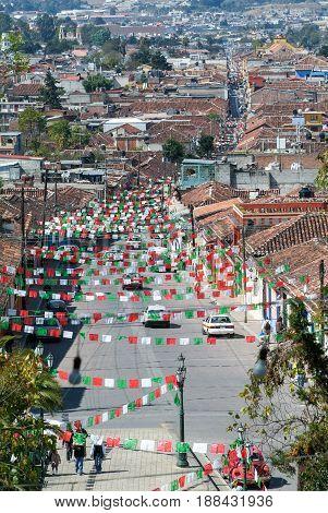 Aerial View To San Cristobal De Las Casas, Mexico
