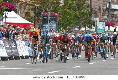 Cycling: Horizon Park Race Maidan In Kyiv, Ukraine