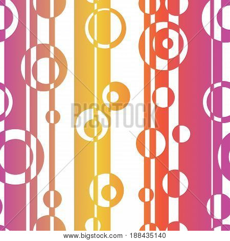 Abstract seamless pattern. Vector illustration, optical illusion. Striped simple lines