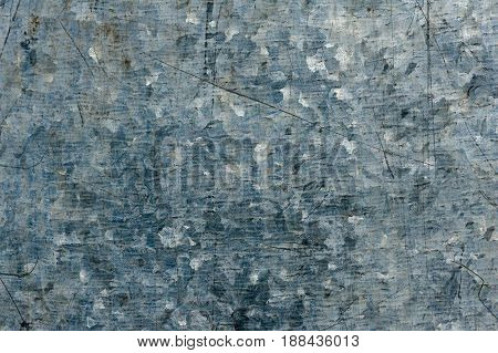 Surface Made Of Galvanized Metal. Texture.