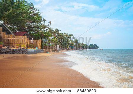 Bang Po Beach on Koh Samui Island, Thailand